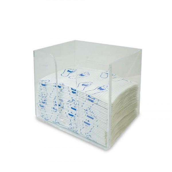 distributeur pour serviettes plastifiées