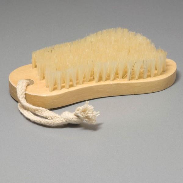 Petite brosse en forme de pied