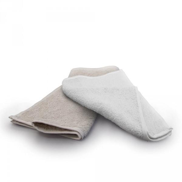 Compresse en coton, 30 x 50 cm, blanche