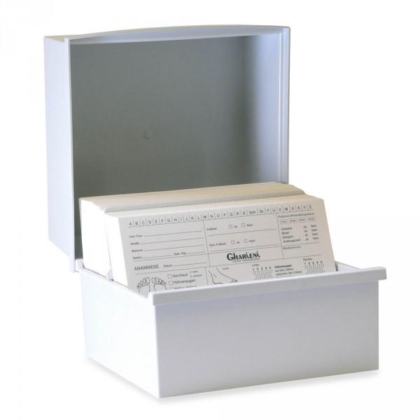 Boîte pour fiches client