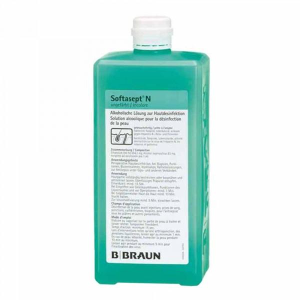 Braun Softasept N® Désinfection de la peau 1L