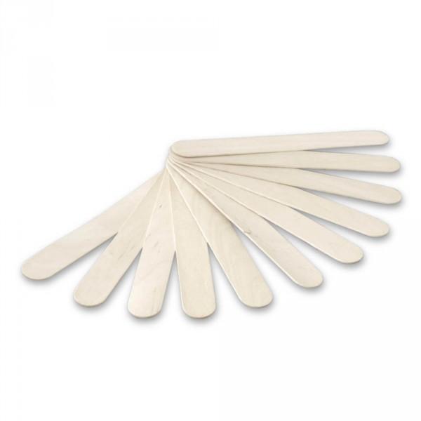 Spatule en bois, 15 cm, 100 pièces