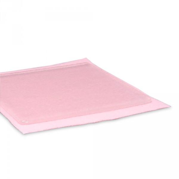 Plaque gel polymère adhésif, 10 cm x 10 cm, paquet de 2