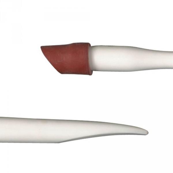 Bâtonnet plastique avec pointe rouge