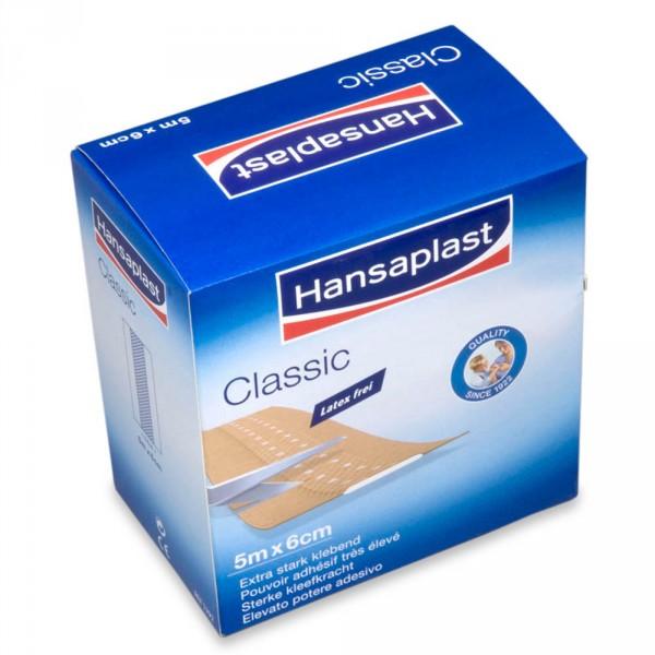 Sparadrap Hansaplast Classic, 6 cm x 5m
