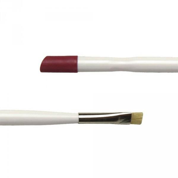 Bâtonnet plastique avec pointe rouge et petite brosse