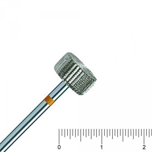 couteau en acier, cylindrique, denté + denté à l'envers, RS 100