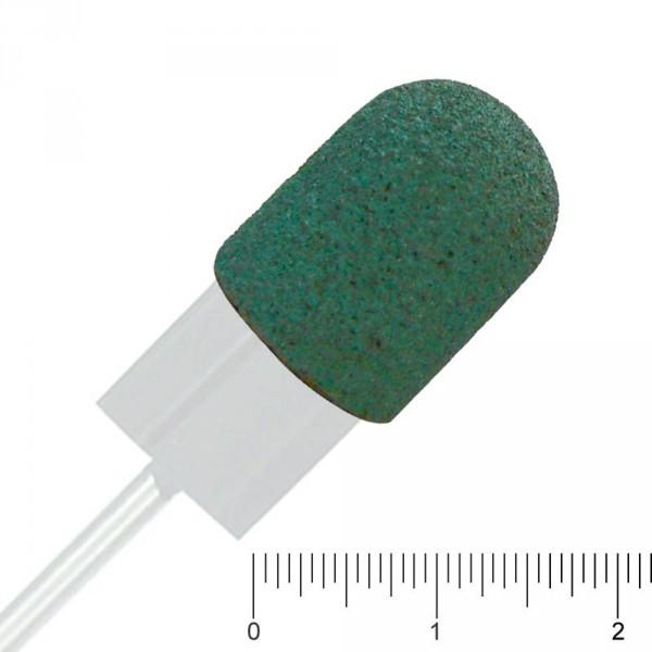 10 ponceuses capuchon vert interchangeable, Ø 10 mm, grainage moyen