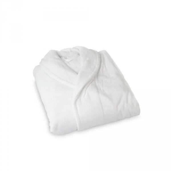 Peignoir pour homme, taille L, blanc