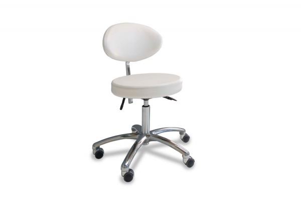 Siège avec assise ovale