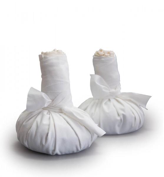 Paire de tampons à quartz, grande taille (de 550 g chacun)
