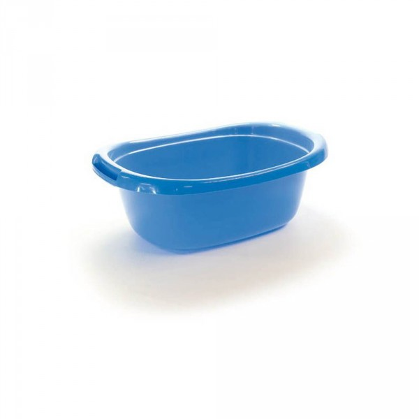 bassine, bleu, 48 x 34 x 16,5 cm, 12 l