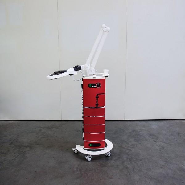 Behandlungsturm Wankelform mit AluVap in Rouge, Ausstellungsstück D18