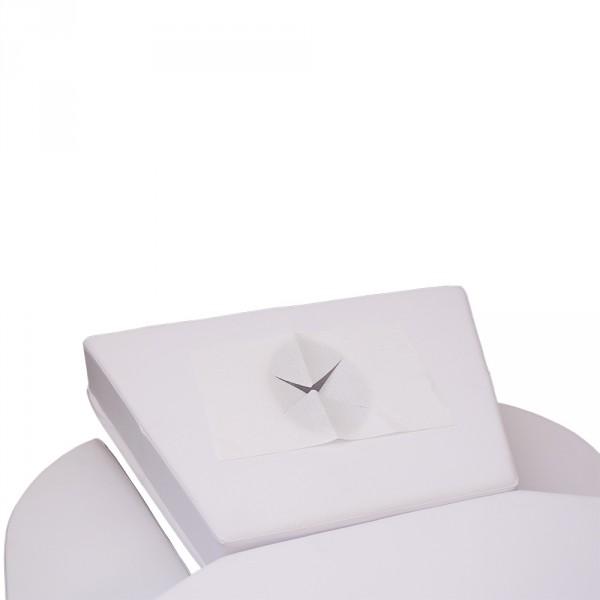Serviettes avec ouverture pour le visage pour les tables de massage, 30 x 21 cm