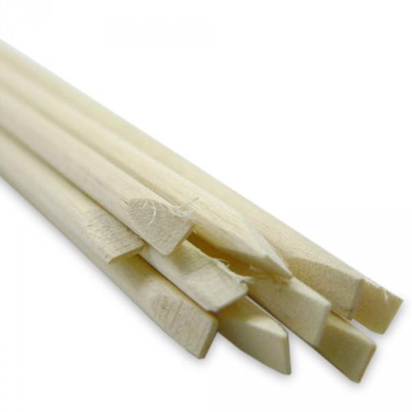 bâtonnet bois, rond, diamètre 5 mm, 10 pièces