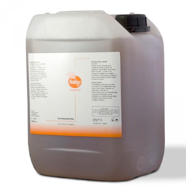 Solution pour ramollir la corne Pedibus, 5000 ml