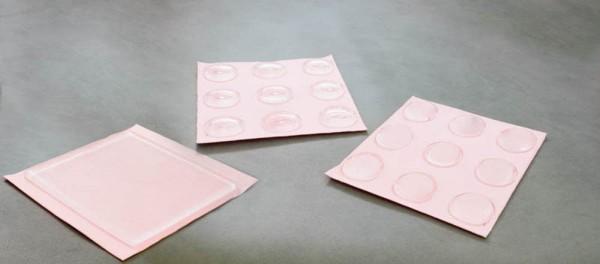 disque de gel polymere adhésif, épaisseur 4 mm, 9 pièces