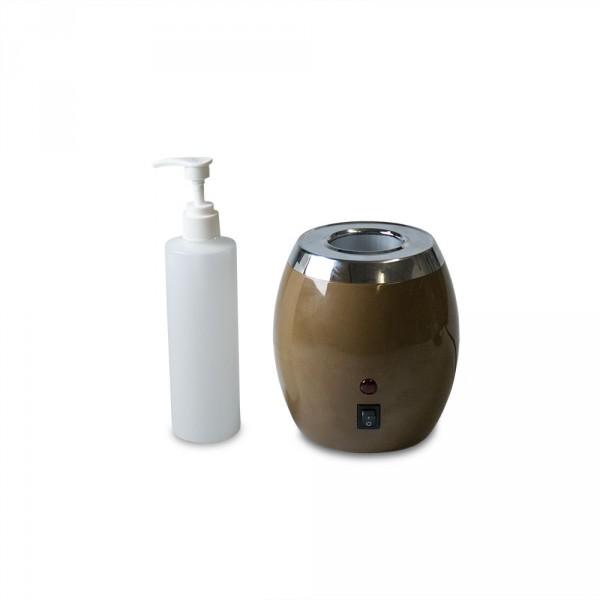 Réchaud pour flacon d'huile avec un flacon inclus