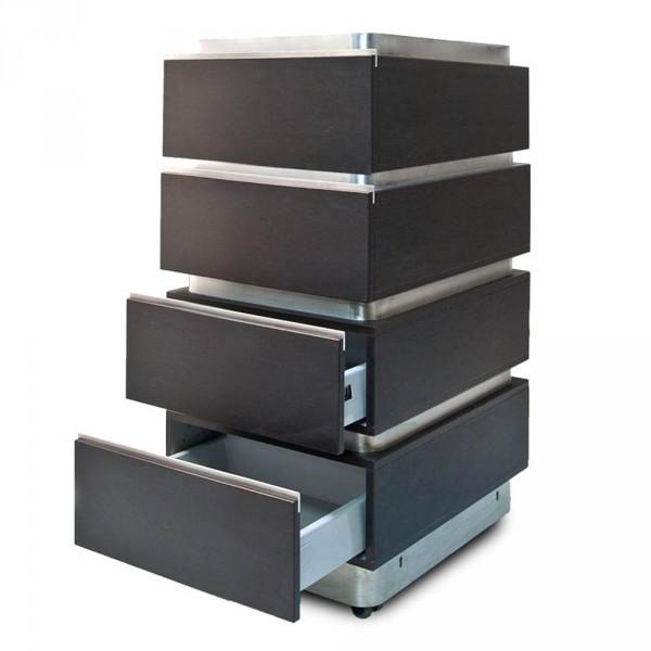 Guéridon à tiroirs de la série EasyStore