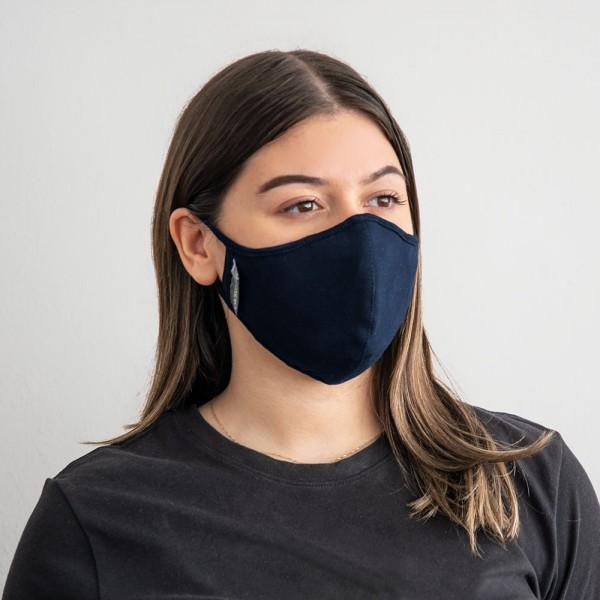 Masque Gharieni avec nanofiltre interchangeable (version pour femmes), bleu