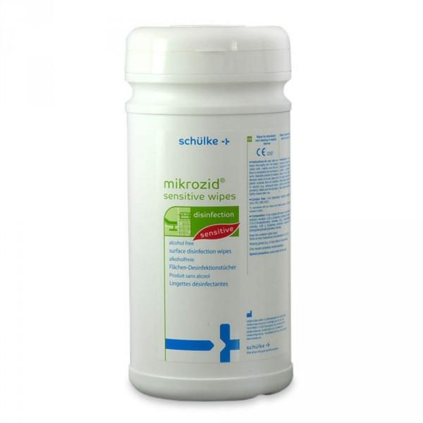 Mikrozid sensitive, boite de 200 lingettes