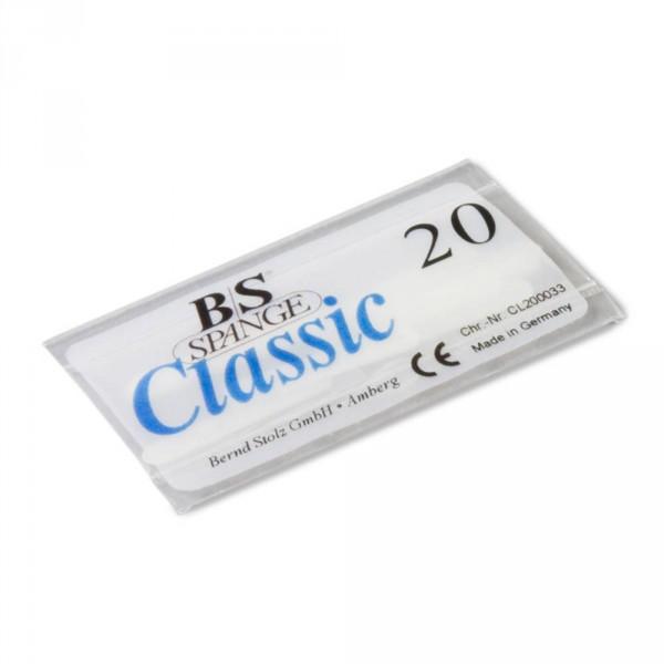 languettes BS, 0,26 mm, taille 20, 10 pièces