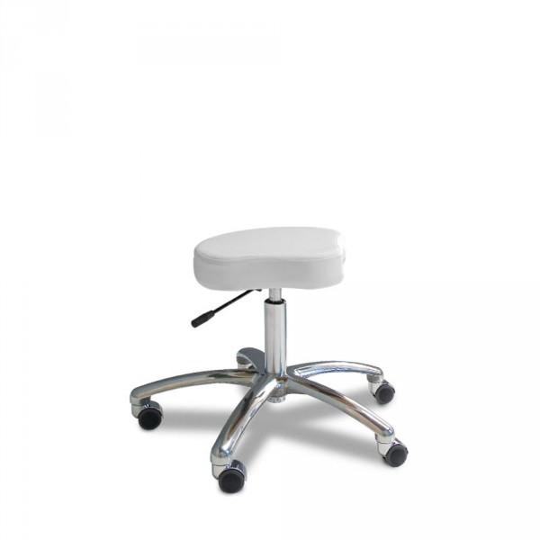 Tabouret avec assise anatomique