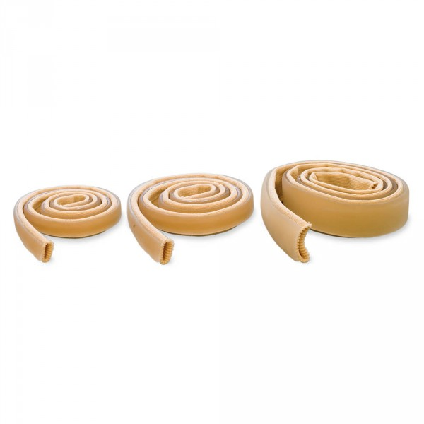 protection tubulaire élastique avec bande de gel, diamètre 2 cm